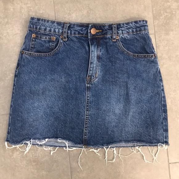 Tobi Dresses & Skirts - Tobi Florence Medium Wash Denim Mini Skirt